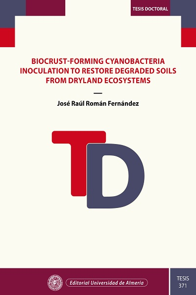 Biocrust-forming cyanobacteria inoculation to restore degraded soils from dryland ecosystems