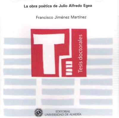 La obra poética de Julio Alfredo Egea