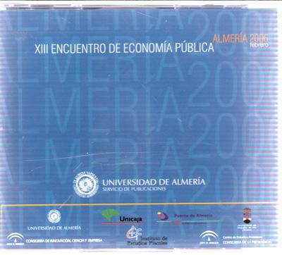 XIII Encuentro de Economía Pública