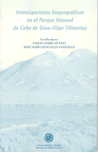Investigaciones biogeográficas en el Parque Natural del Cabo de Gata-Níjar(Almería)