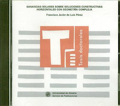 Ganancias solares sobre soluciones constructivas horizontales con geometría compleja
