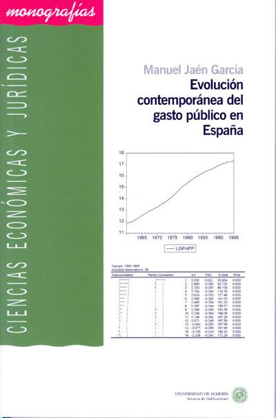 Evolución contemporánea del gasto público en España