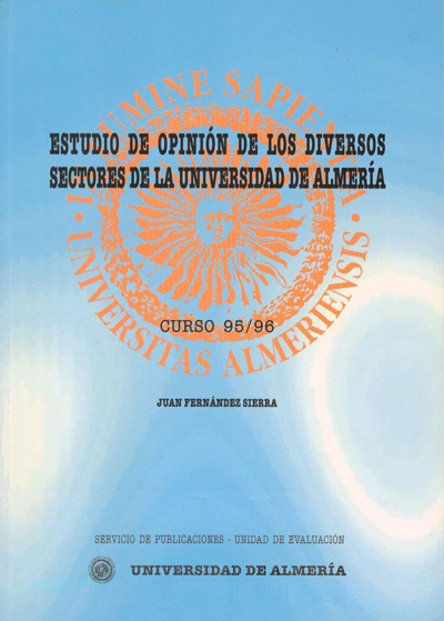 Estudio de opinión de los diversos sectores de la Universidad de Almería