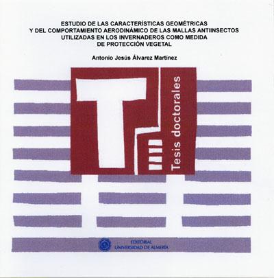 Estudio de las características geométricas y del comportamiento aerodinámico de las mallas antiinsectos utilizadas en los inver