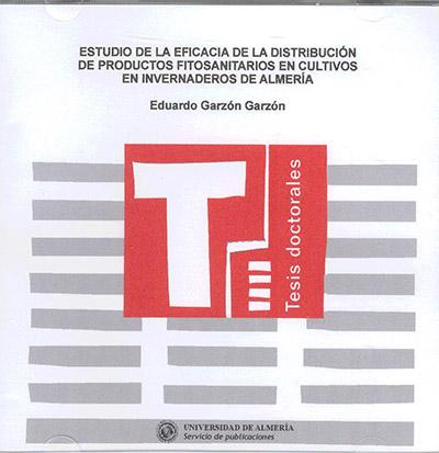 Estudio de la eficacia de la distribución de productos fitosanitarios en cultivos en invernaderos de Almería