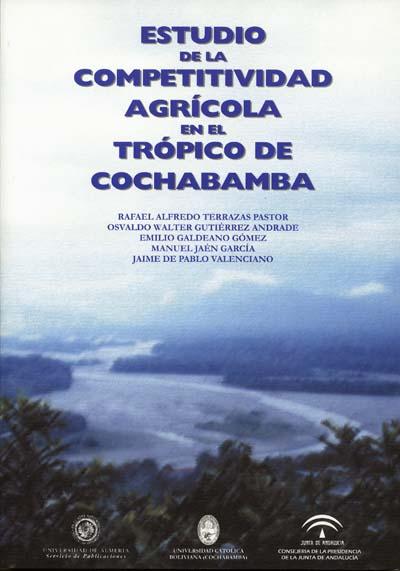 Estudio de la competitividad agrícola en el trópico de cochabamba