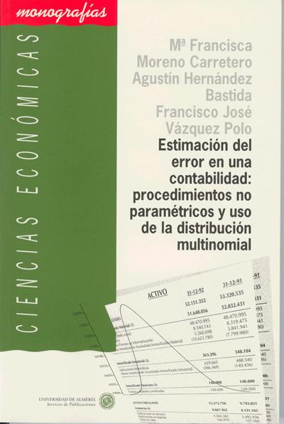 Estimación del error en una contabilidad: procedimientos no paramétricos y uso de la distribución multinomial