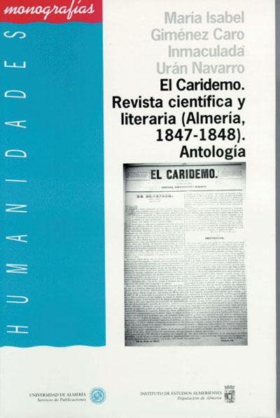 El Caridemo. Revista científica y literaria (Almería 1847-1848). Antología