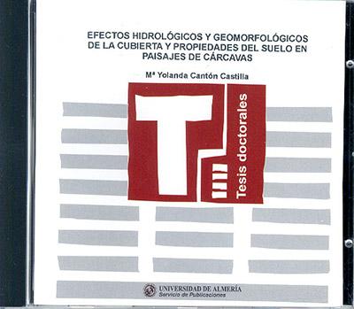 Efectos hidrológicos y geomorfológicos de la cubierta y propiedades del suelo en paisajes de cárcavas
