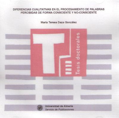 Diferencias cualitativas en el procesamiento de palabras percibidas de forma consciente y no-consciente