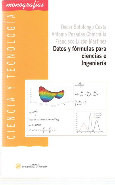 Datos y fórmulas para ciencias e ingeniería