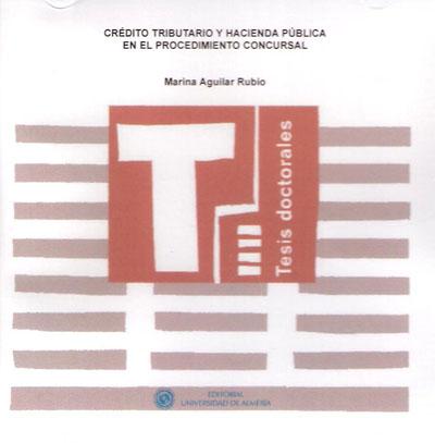Crédito tributario y hacienda pública en el procedimiento concursal