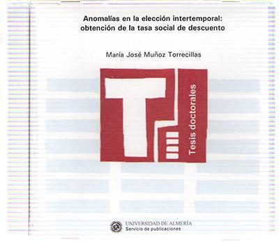 Anomalías en la elección intertemporal: obtención de la tasa social de descuento