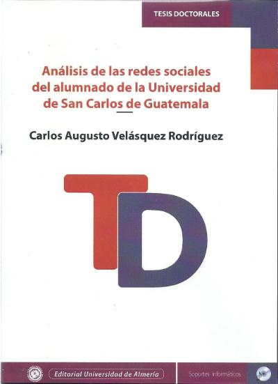 Análisis de las redes sociales del alumnado de la Universidad de San Carlos de Guatemala