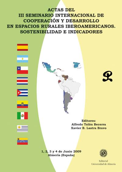 Actas del III Seminario Internacional de Cooperación y  Desarrollo en Espacios Rurales Iberoamericanos.