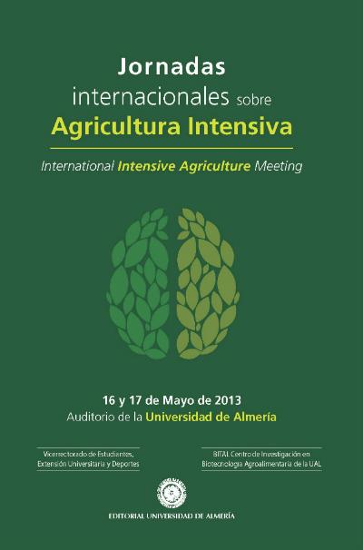 Jornadas internacionales sobre agricultura intensiva 2013