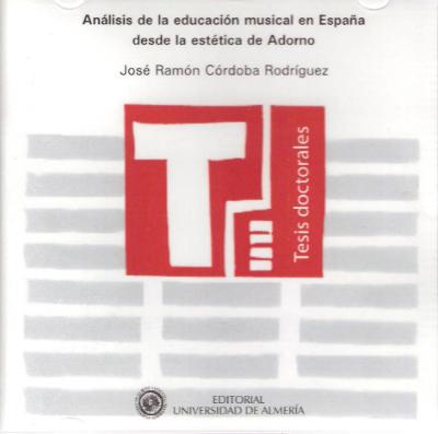 Análisis de la educación musical en España desde la estética de Adorno