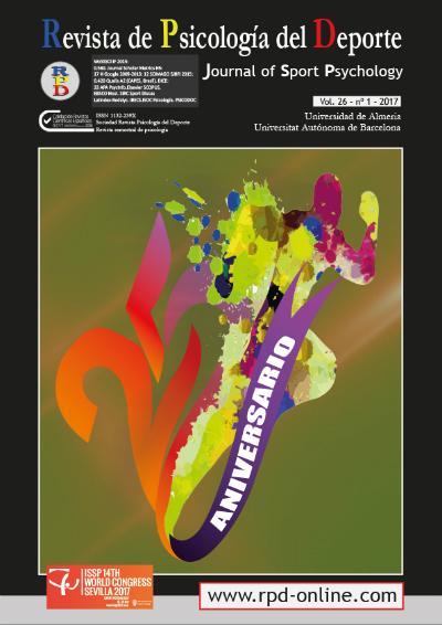 Revista de Psicología del Deporte Vol 26 nº 1, 2017
