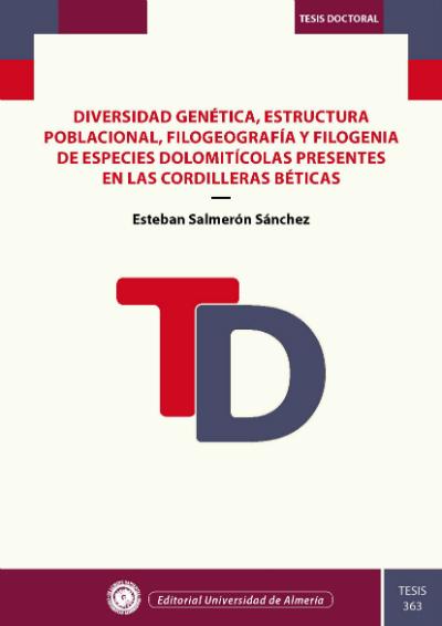 Diversidad genética, estructura poblacional, filogeografía y filogenia de especies dolomitícolas presentes en las cordilleras