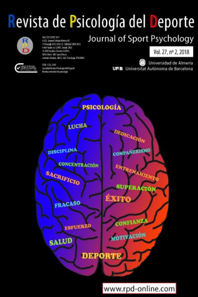 Revista de Psicología del Deporte Vol 27, nº 2,  2018