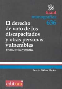 El derecho de voto de los discapacitados y otras personas vulnerables