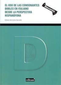 El uso de consonantes dobles en italiano desde la perspectiva hispanófona