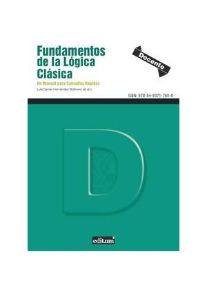 Fundamentos de la lógica clásica. Un manual para consultas rápidas.- EBOOK