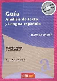 Guía análisis de texto y lengua española. segunda edición